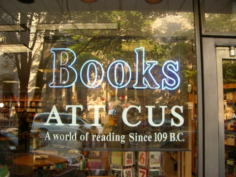 Atticus Bookstore and Cafe