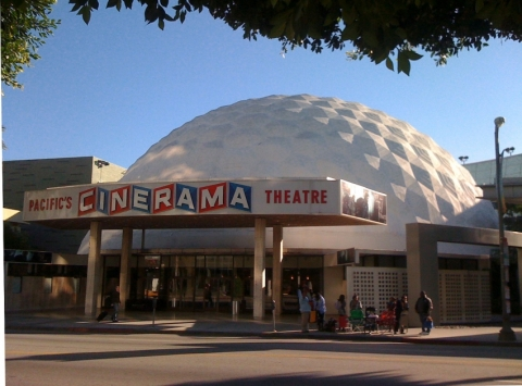 Pacific Theatres' Cinerama Dome at ArcLight Hollywood