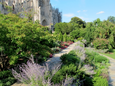 Washington National Cathedral Gardens and Close